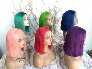 Colored Lace Front Wig