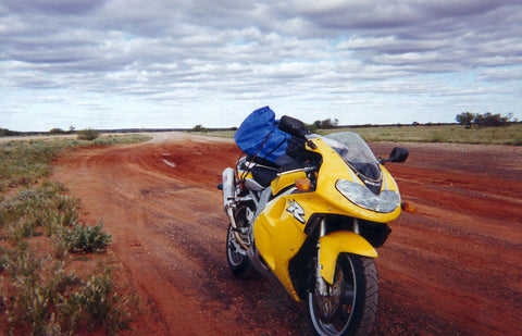Suzuki TLR in the Outback