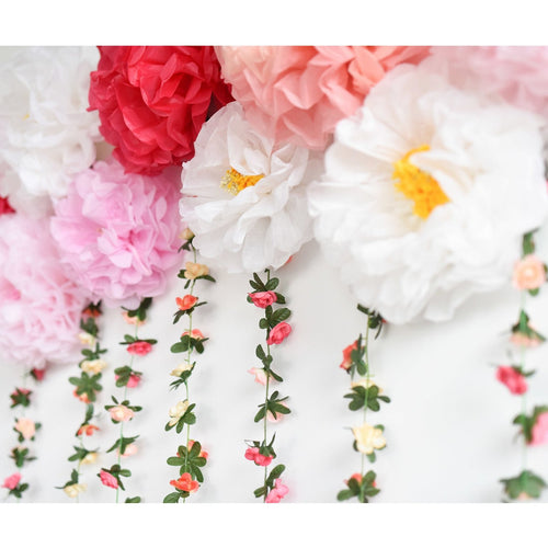 Floral Instagram Wall