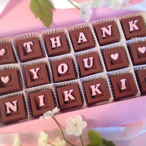 Thank You Personalized Chocolate