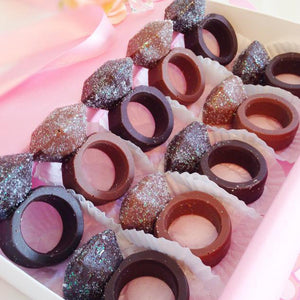Chocolate Engagement Ring Party Favors