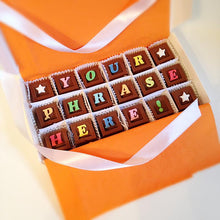 Load image into Gallery viewer, Personalize Your Message in Chocolate