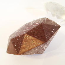 Load image into Gallery viewer, Giant Sparkle Diamond Shaped Chocolate
