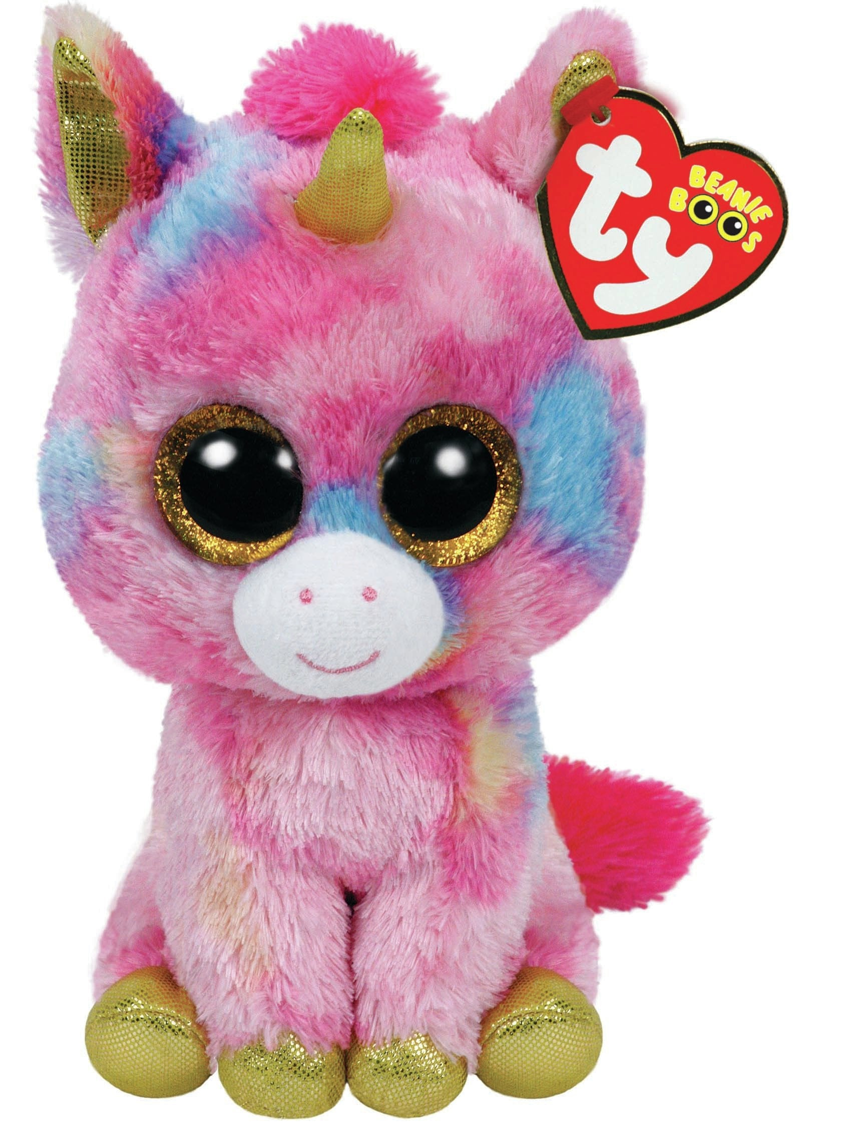 Ty Beanie Boo Plush Fantasia The Unicorn 15cm 15cm//5.9in