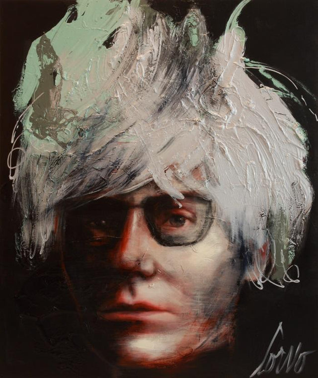 """Andy Warhol"" (unframed)"