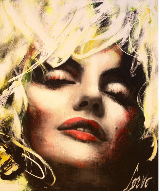 "Crystal-Plexiglass Print ""Inspiration Marilyn"""