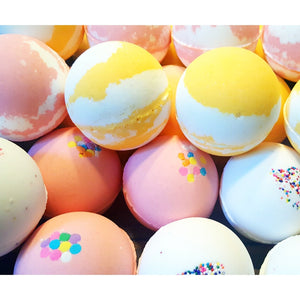 bath bombs by WBC Soap