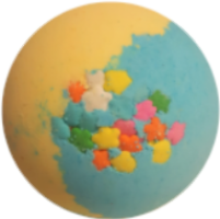 Stardust Bath Bomb - WBC SOAP CO.
