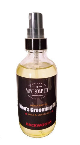 Men's Grooming Oil - WBC SOAP CO.