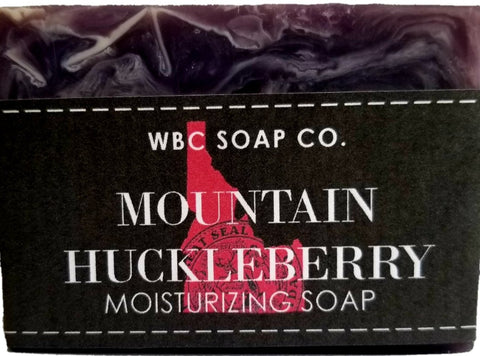 Idaho Wild Mountain Huckleberry - WBC SOAP CO.