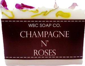 Champagne N' Roses Soap - WBC SOAP CO.