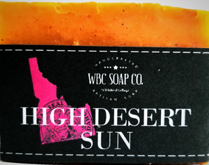 Idaho High Desert Sun Soap - WBC SOAP CO.