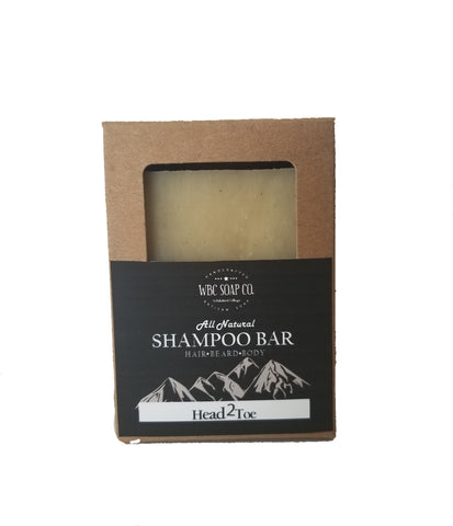 Adventurer shampoo bar - WBC Soap co.