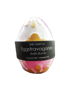 Eggstravaganza Mega Bath Bomb - WBC SOAP CO.
