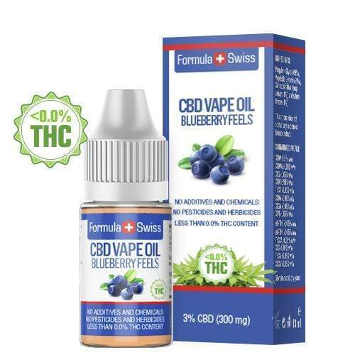 CBD vape olja Blueberry Feels 3% (300 mg)