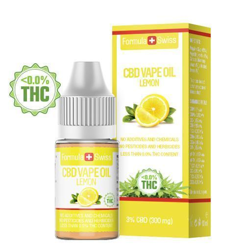 CBD vape olja Lemon 3% (300 mg)