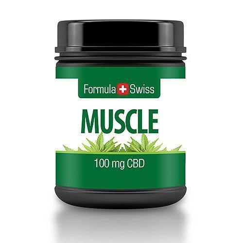 CBD Muscle Cream 100 mg, 30 ml FormulaSwiss.com