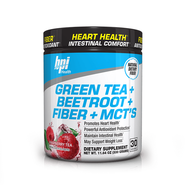 Green Tea + Beetroot + Fiber + MCTs
