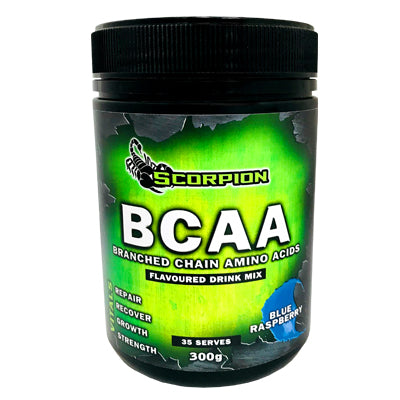Scorpion BCAA Flavoured Drink Mix 300g (35 SERVES)