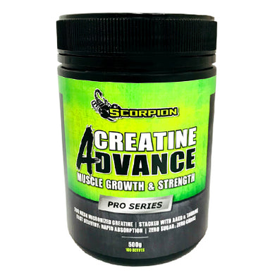 Scorpion Creatine Advance 500gm