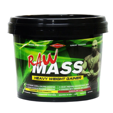 MetaPhysics RAW MASS Weight Gainer 4.4kg (48 Serves)