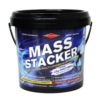 MetaPhysics MASS STACKER 3kg (40 Serves)