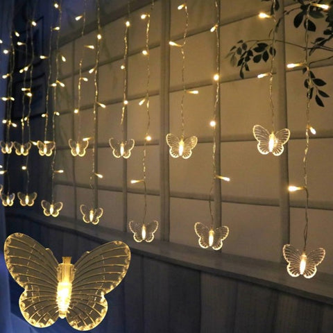 butterfly string light