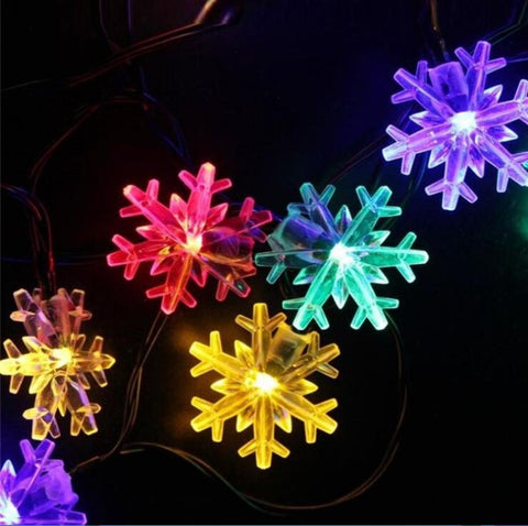 snow solar light