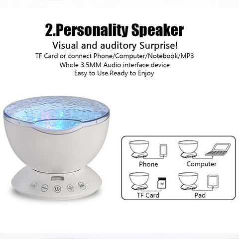 projector music player