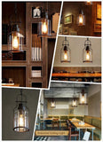 "6"" Wide Cylinder Glass Shade Pendant Light ceiling lights ceiling lamps hanging lamps hanging lights"