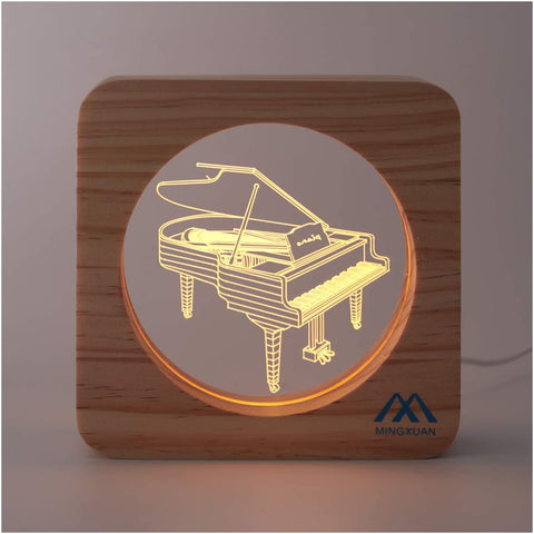 Musical Instrument Creative USB Night Light