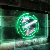 Live Music Recording Studio LED Sign Perfect Decoration for Your Home Bar, Man Cave, Garage, Game Room and Kitchen music room lighting recording sturio music school guitar piano live music lights