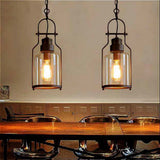 "6"" Wide Cylinder Glass Shade Pendant Light"