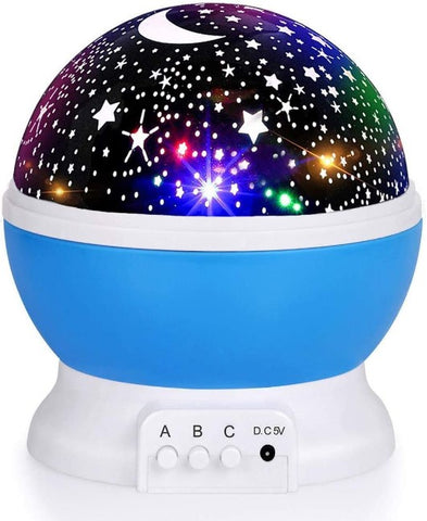 Rotating Star Projector Lamp Starry Baby Night Light