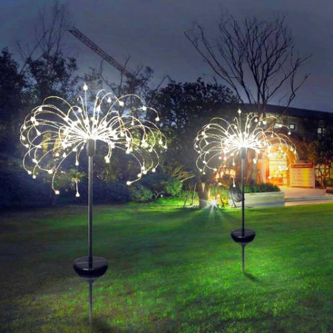 MagicSpark Solar Lawn lights 8 Function Modes