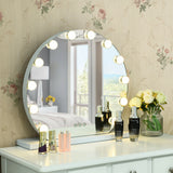 12 bulbs Touch Hollywood Makeup Vanity Mirror
