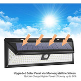 Solar led Light PIR Motion Sensor Lamp