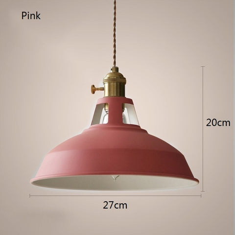 E27 Modern Alloy LED Pendant Lights