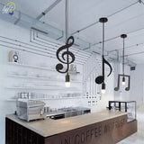 DoReMiLamp Music Note Pendant Lamp