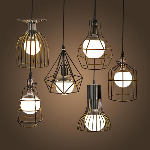 Retro Hanging American Style Pendant Lights