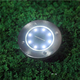 Solar Powered Pathway Deck Ground Light