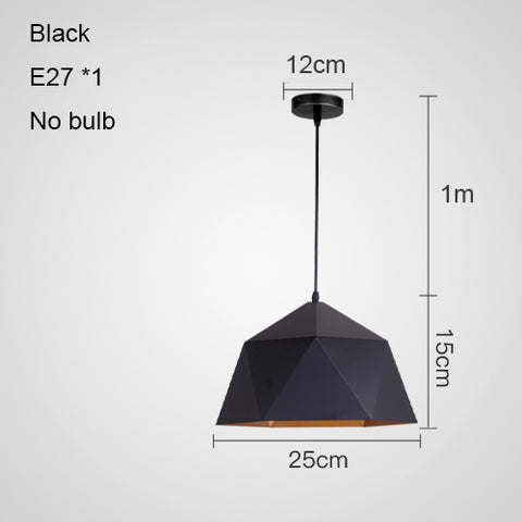 E27 ART DECO LED Modern Pendant Lights