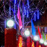 10pcs/lot 80cm LED Snowfall Rain Tube Lights