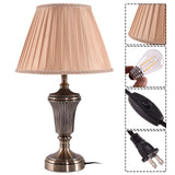 "13"" Antique Brass LED Bulb Table Lamp"
