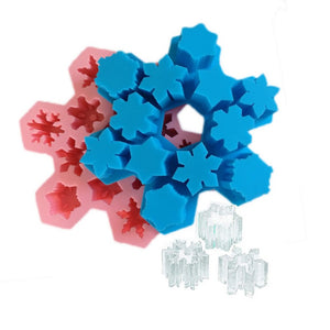 Holiday Snowflake Ice Tray