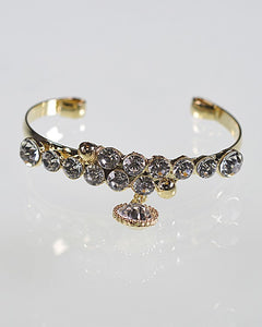 Open End Crystal Studded Bracelet