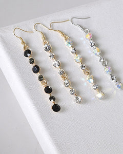 Crystal Studded Earrings with Fishhook id.31492