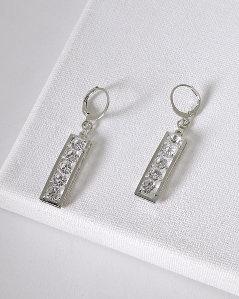 Crystal Studded Drop Earrings id.31601