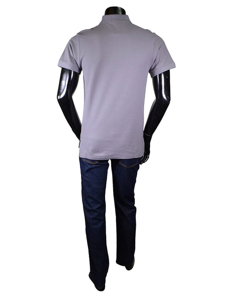 Solid Short Sleeves Polo T-shirt