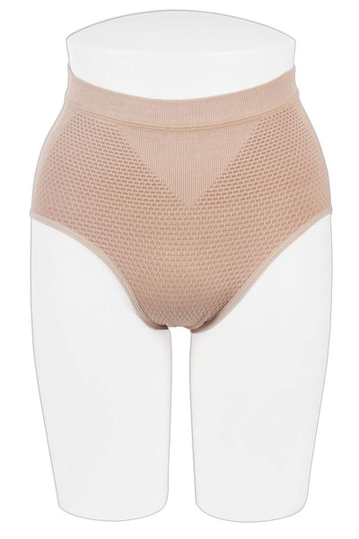 Ladies hi-waistband for firm control and shaping